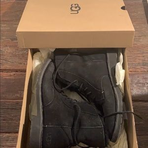 UGG Black W Quincy Boots Size 8